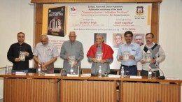 book release function of Emperor of Kashmir: Lalitaditya the Great, the English version of the original Marathi book written by historian Sanjay Sonawani
