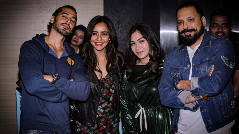 Aparshakti Khurrana, Neha Sharma, Dino Morea at launch party of New club Ophelia