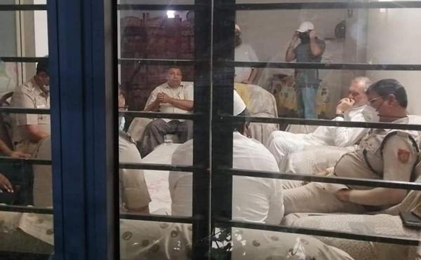 Delhi Police raids at the residence of Dr. Zafarul Islam Khan, Chairman of Delhi Minorities Commission