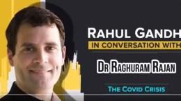 Rahul Gandhi in conversation with Dr. Raghuram Rajan