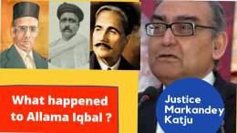 What happened to Allama Iqbal
