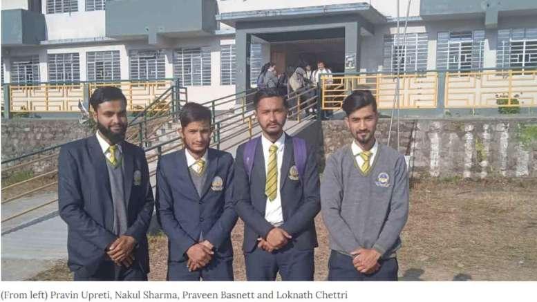 Sikkim-students