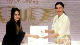 Gauahar Khan Launches 'Queens lift', a Premium Skincare Product by Dr. Umaira