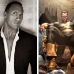 The Rock é confirmado como o vilão Adão Negro nos filmes da DC