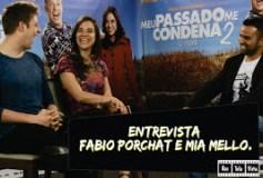 Entrevista exclusiva com Fábio Porchat e Miá Mello
