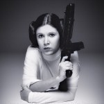 Carrie Fisher já havia gravado todas as cenas de Star Wars 8