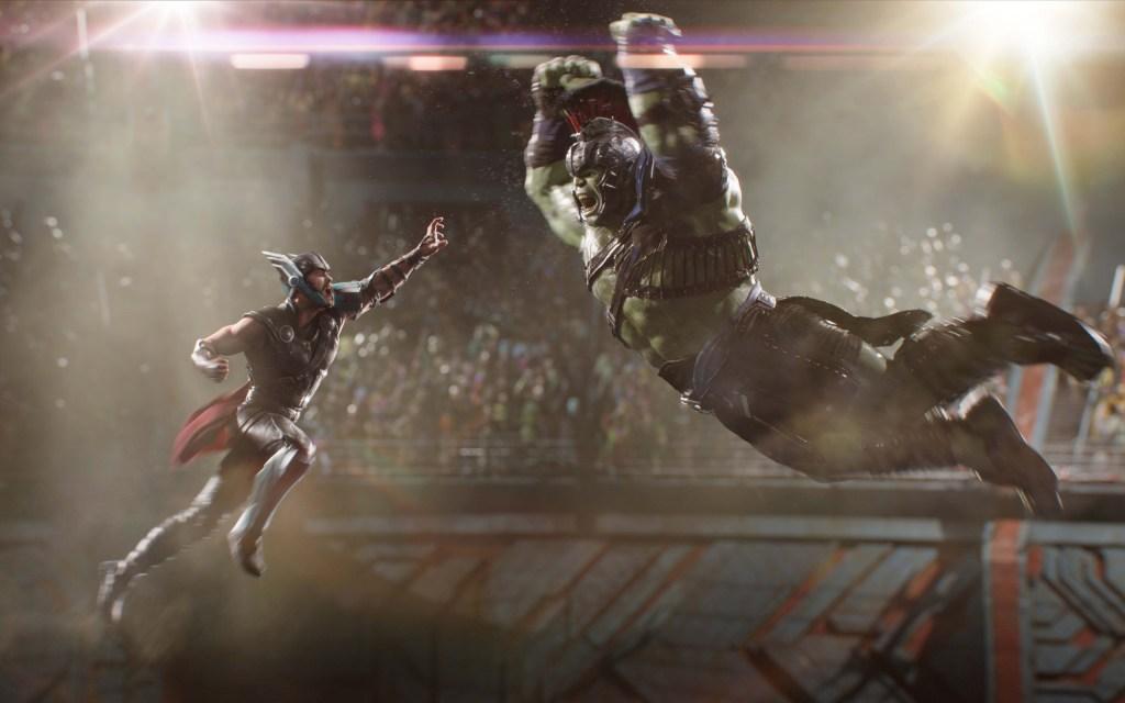 Hulk Gladiador vs Thor