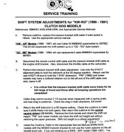 omc cobra shift system ajustments for kw rg page 1 160k  [ 790 x 1024 Pixel ]