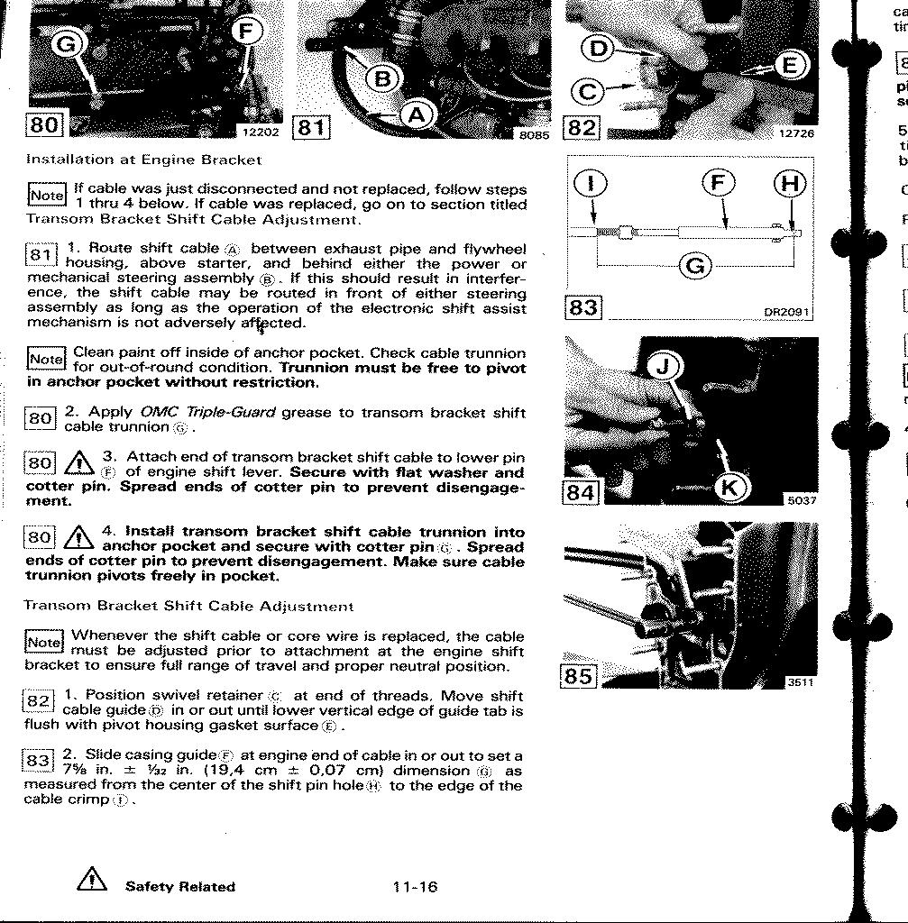 mercruiser alpha one parts diagram acme transformer buck boost wiring diagrams shift system adjustments for