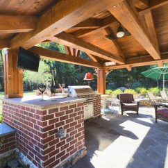 How Much Does An Outdoor Kitchen Cost Countertops Types It To Design And Build