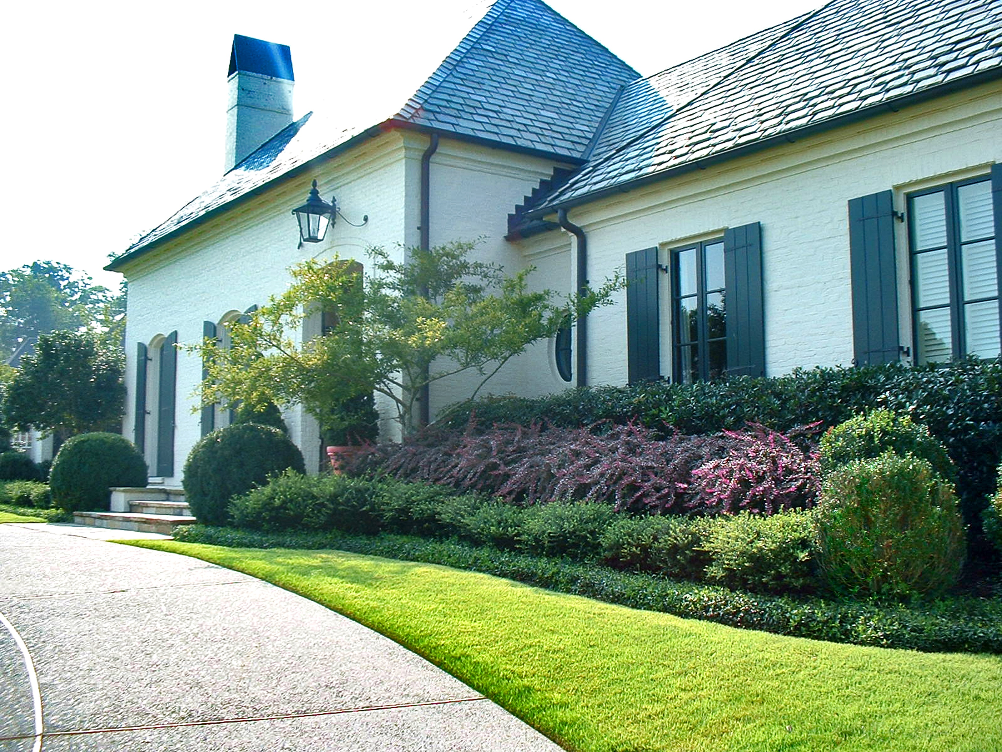 examples of memphis landscaping