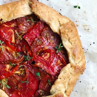 TOMATO AND RICOTTA GALETTE