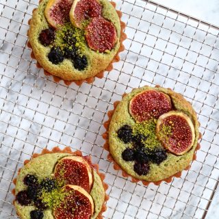 FIG BLACKBERRY & PISTACHIO FRANGIPANE TART