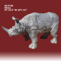 Hippos-elephants Hatley Castings