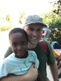 Jonathan with godfather David
