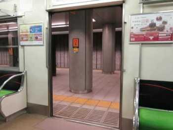 京阪5000系のドア開閉動画(その1)