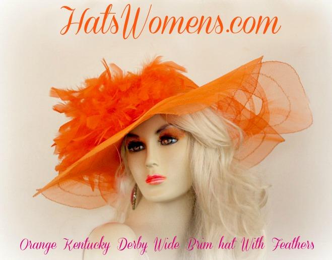 516 Yellow Women/'s Church Derby Hats