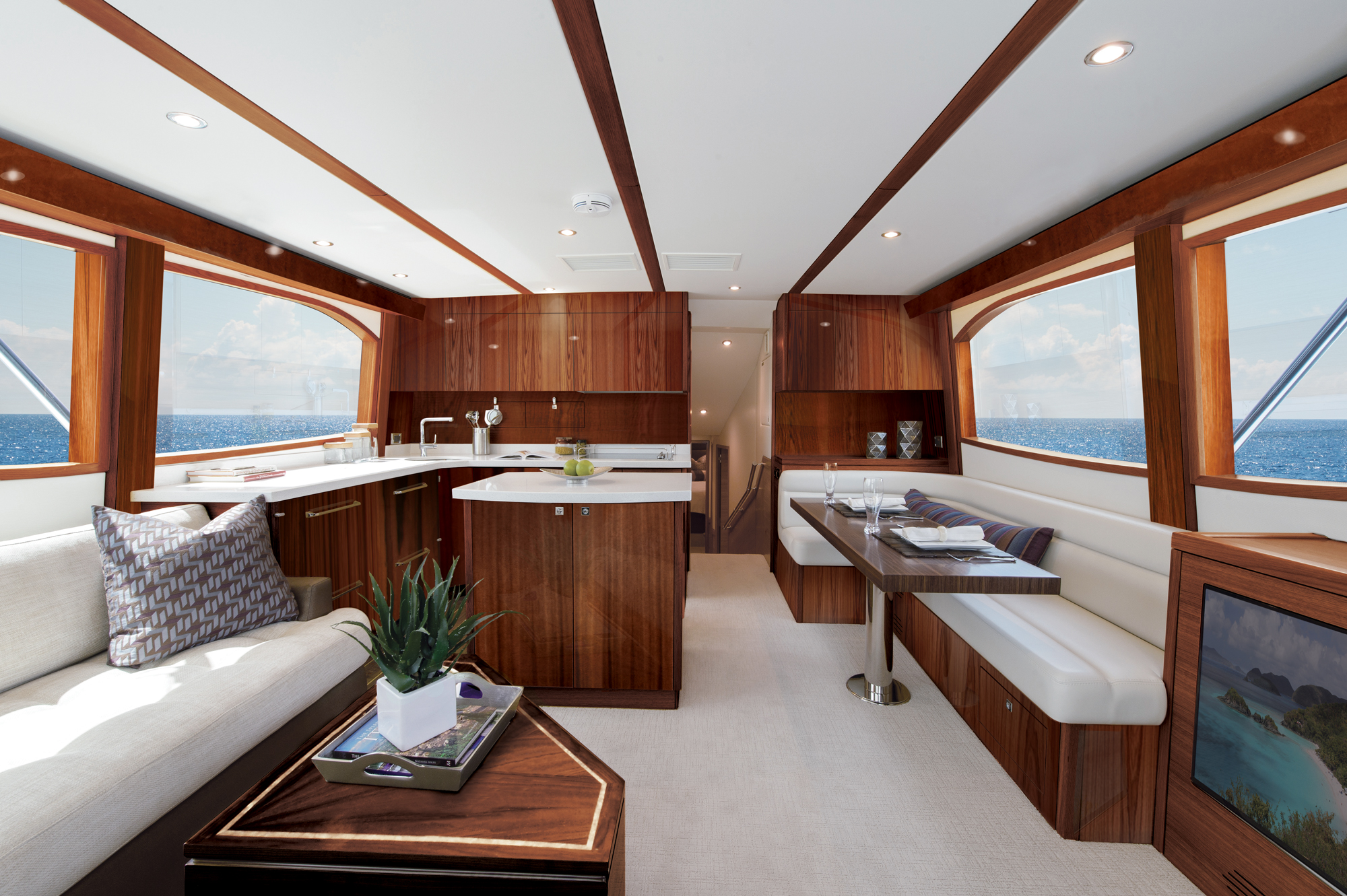 Hatteras Yachts GT54 Convertible Sportfishing Yacht