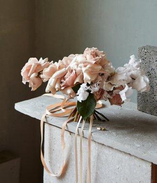 Architectural Bridal Bouquet | That Flower Shop | Weddings & Events