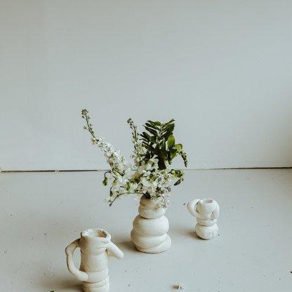 Seasonal Bouquet in White