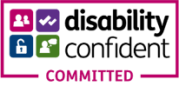 Disability Commited Logo