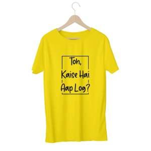 To Kaise Hai Aap Log - Yellow - HattsOff