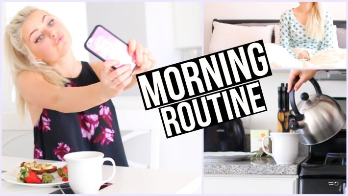 Morning Routine - Arbeitstag