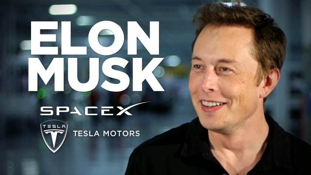 Elon Musk von Tesla
