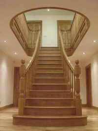 Stairs Donegal Modern traditional staircases doors ...