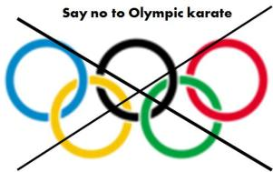 No Olympic karate
