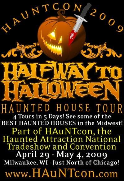 HALFWAY to HALLOWEEN Haunted House Tours at HAuNTcon