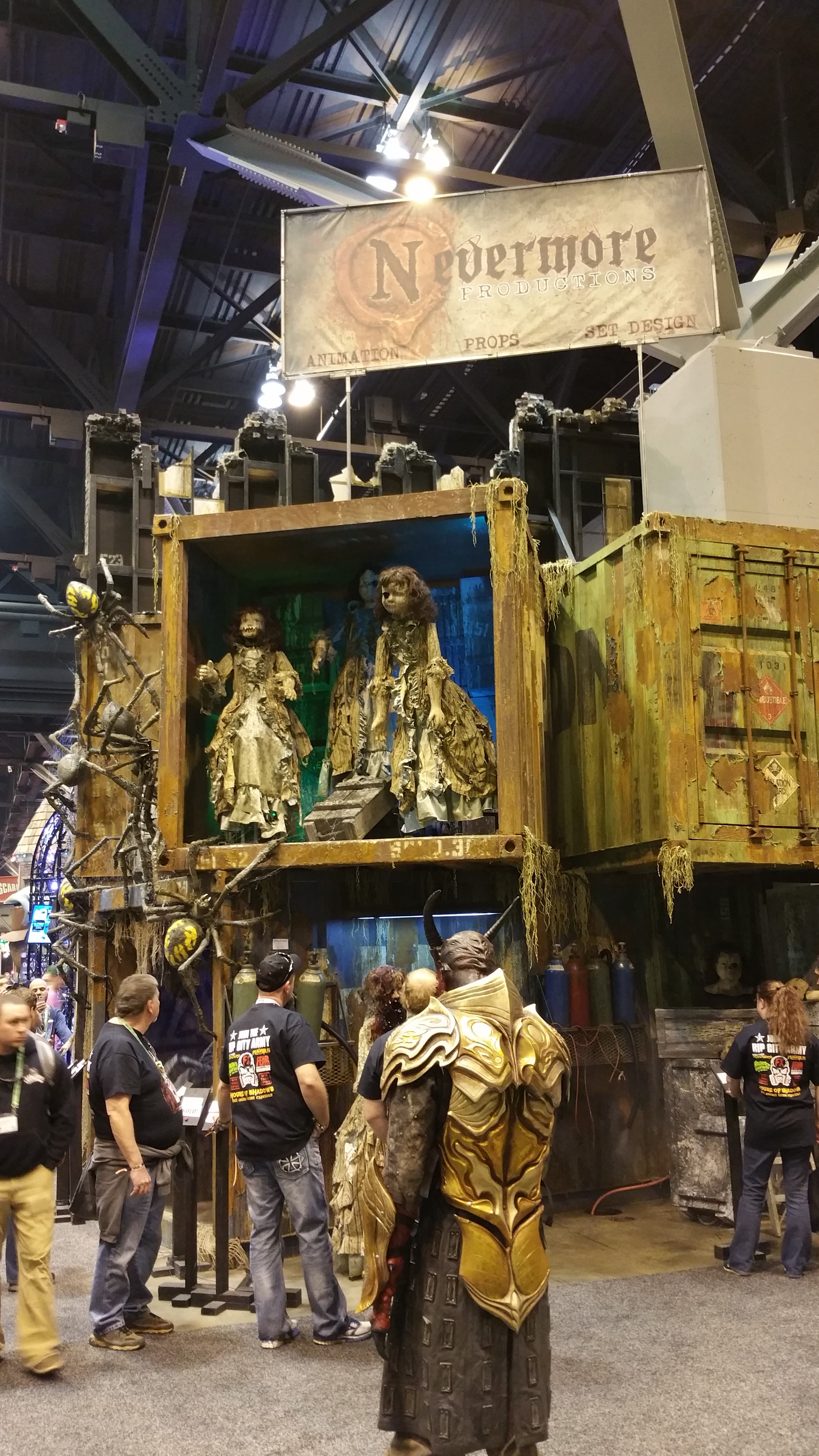 Transworlds Halloween  Attractions Show a Huge Hit for