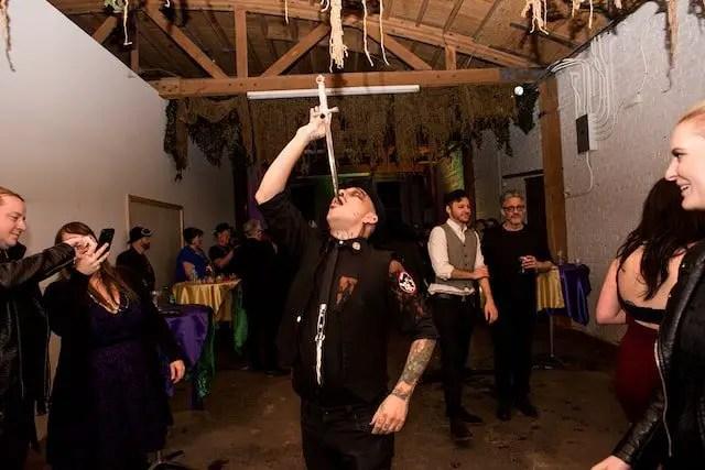 Drunken Devil Bloody Gras Matt Dorado Mardi Gras Annie Lesser