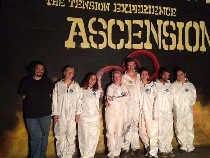 The Tension Experience Ascension Addison Truth OOA Institute BOS Horror Immersive Theater Haunting.net