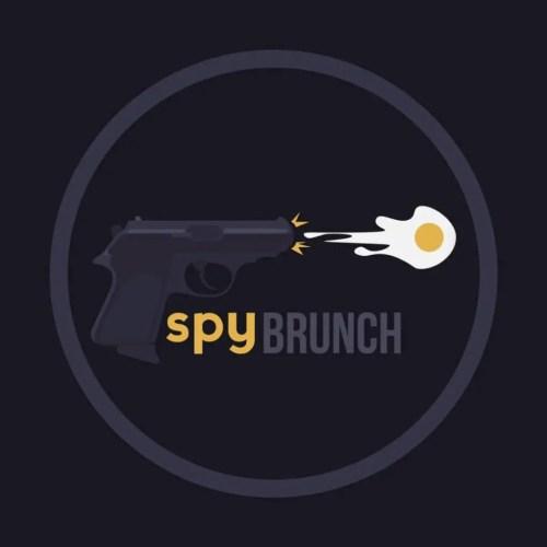Spy Brunch LLC, Logo, Full Zide