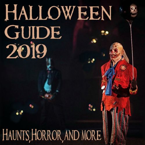 2019 Haunt Guide Haunting, Halloween Guide 2019, Cover Image, Los Angeles, CA