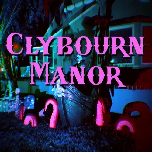 Clybourn Manor - Pirate Yard Display in Burbank Halloween Haunt