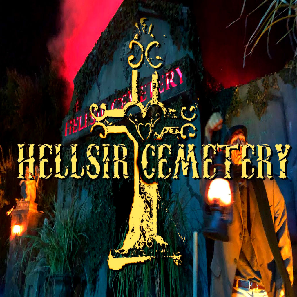 Hellsir Cemetery Yard Display Halloween Haunted House
