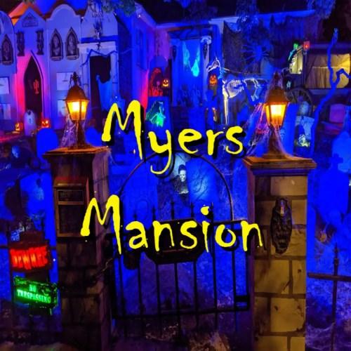 Myers Mansion Yard Display Halloween Horror Home Haunt
