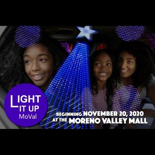 Light It Up MoVal, Moreno Valley, Christmas Light Display, Drive-Thru Experience, Installation, Lightasmic, Holiday Guide 2020
