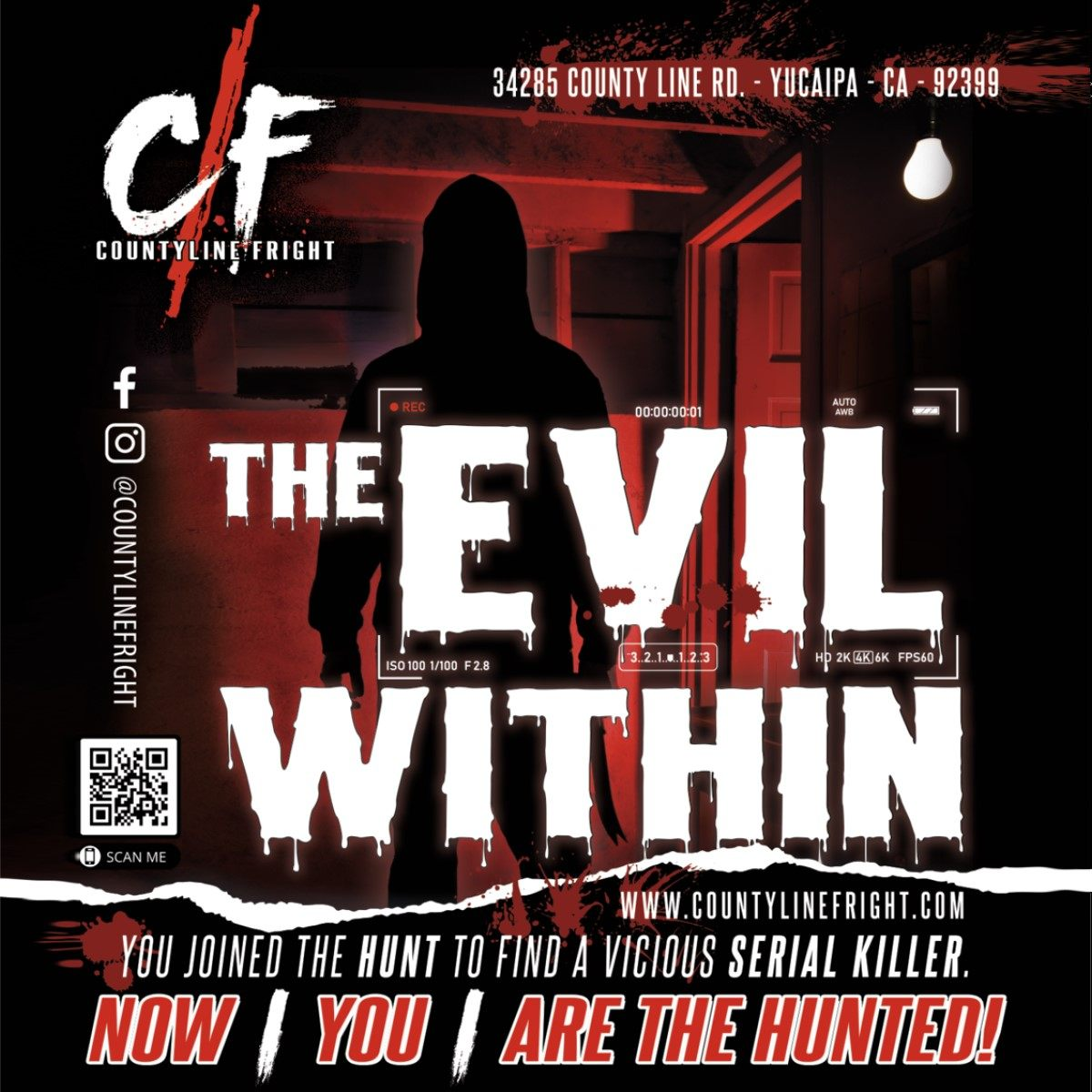 Countyline Fright - The Evil Within - Haunted House - Yucaipa - CA