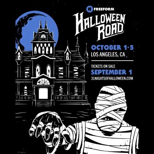 Freeform - Halloween Road 2021 - Family Friendly - Installation - Los Angeles - CA