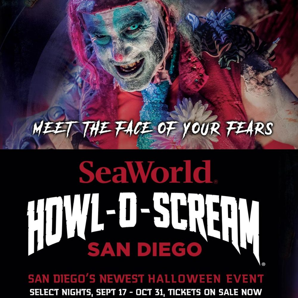 SeaWorld - Howl-O-Screams - Theme Park - San Diego - CA