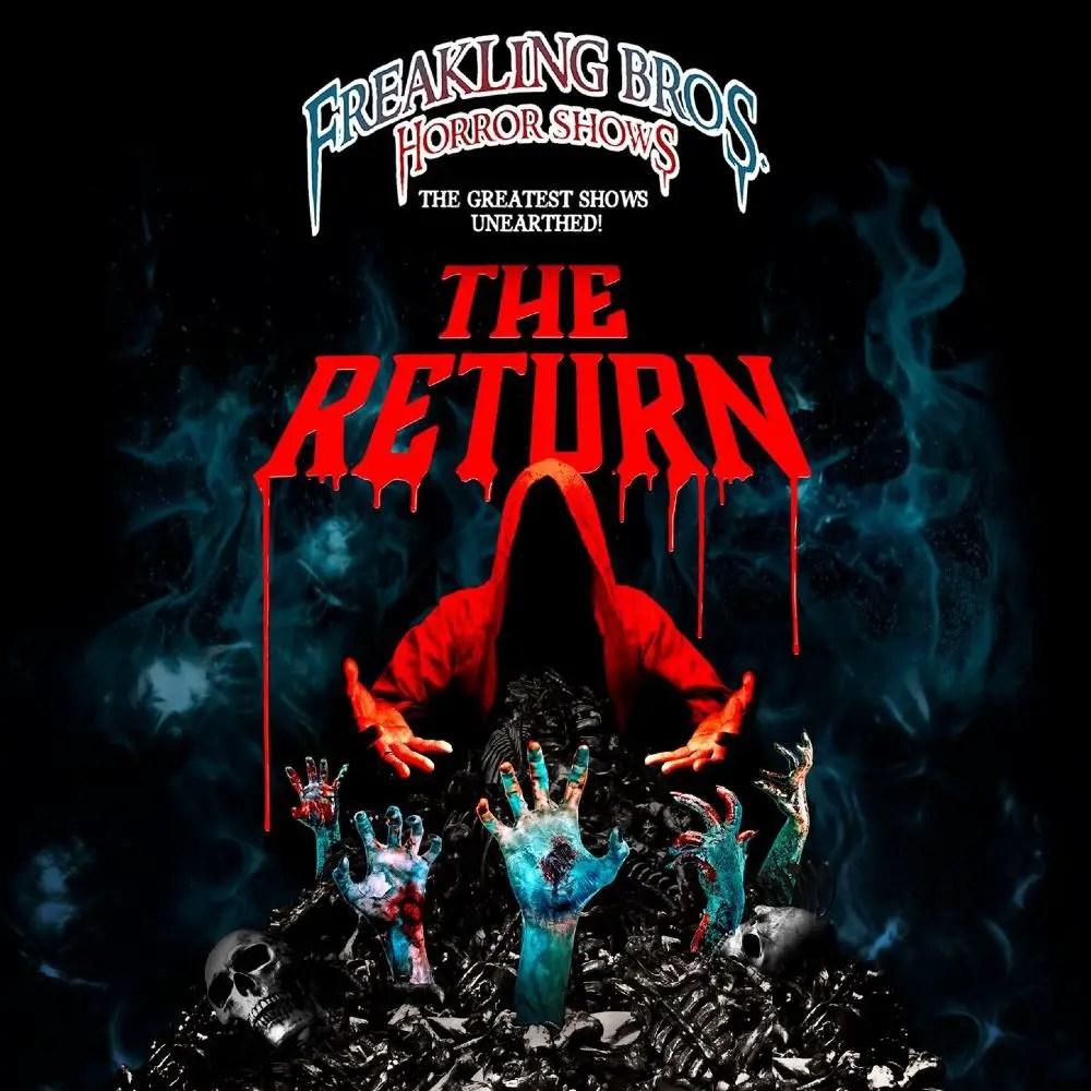 Freakling Bros Horror Show 2021 - The Return - Haunted House - Las Vegas NV