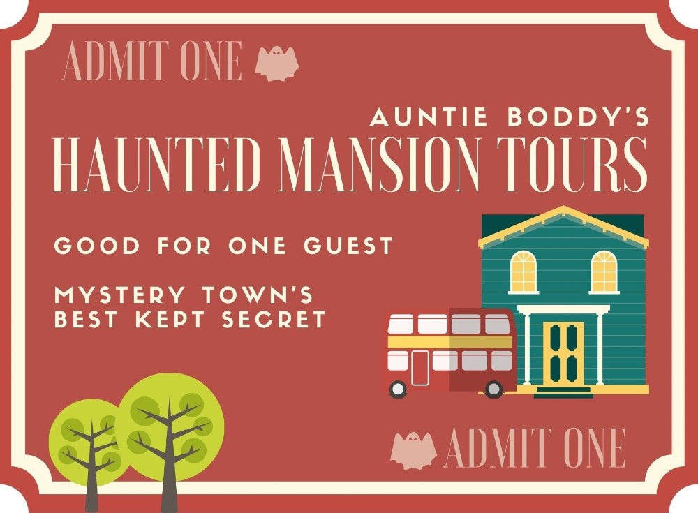 Murder Mystery Dinner Party - Auntie Boddy's Haunted Mansion Tours - Remote Experience