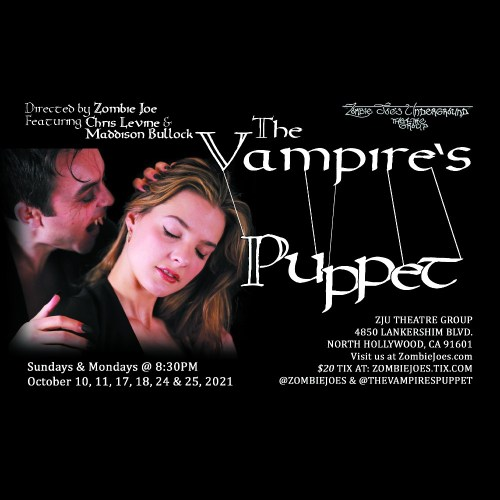 Zombie Joes Underground Theater- The Vampire Puppet - Performance Theater - North Hollywood CA - Performance Theater