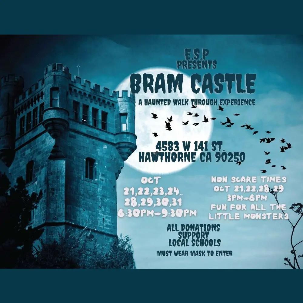 Elm Street Productions - Bram Castle - Home Haunt - Hawthorne CA
