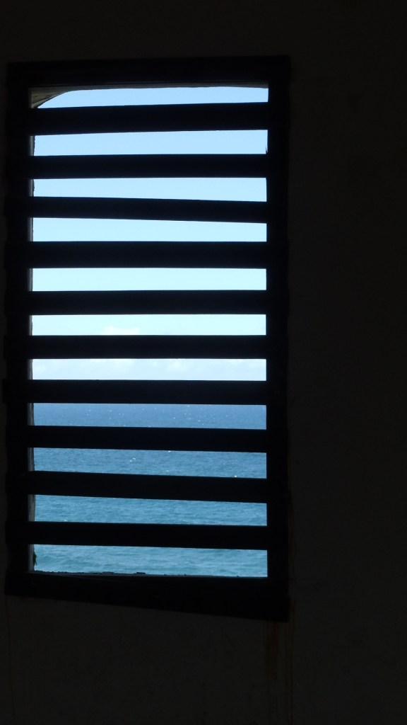 Sea through the slats