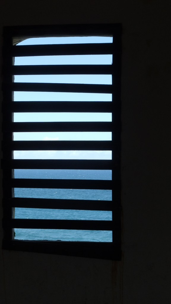 Sea through the slats