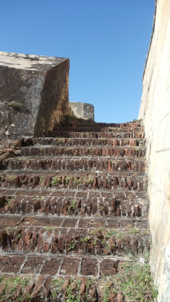Outside Stairway at San Cristobal